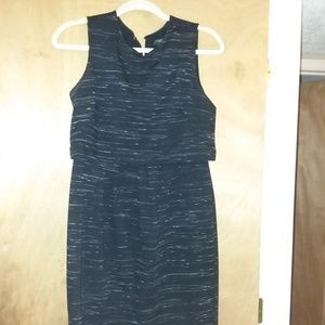 Ann Taylor Dress in Navy size 4